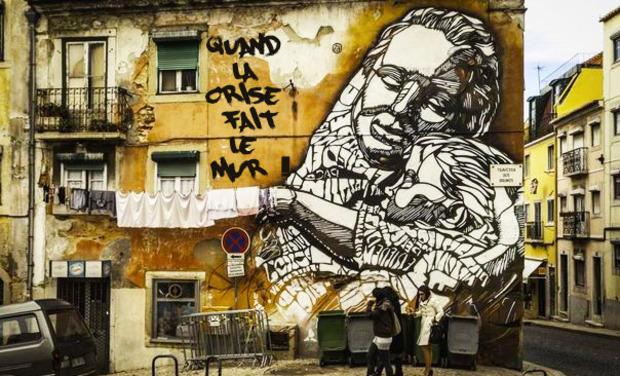 Visuel du projet Quand la crise fait le mur : le street art à Lisbonne !