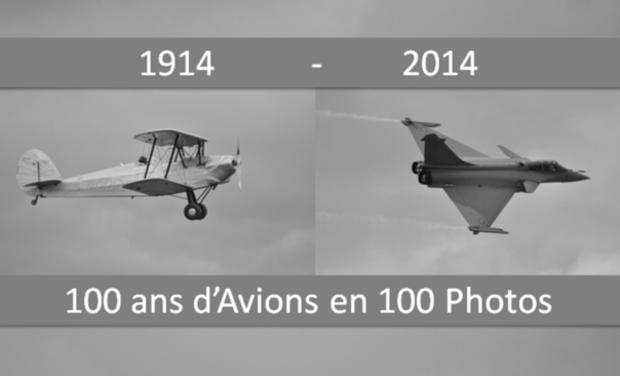 Visuel du projet 100 ans d'avions en 100 Photos