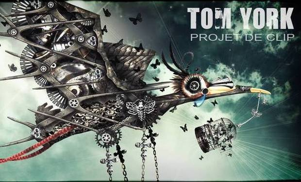 Project visual Financement du nouveau clip de Tom York