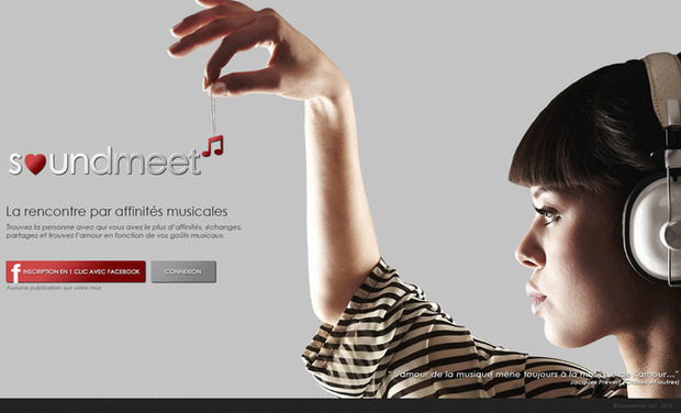 Visuel du projet SOUNDMEET.NET