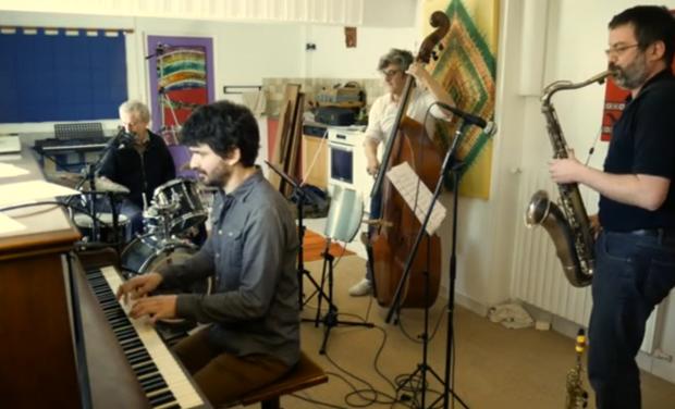 Visueel van project Rémi DUMOULIN jazz quartet