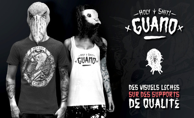 Visueel van project Guano - Holy Shit Clothing