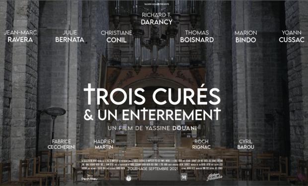 Project visual Trois Curés et Un Enterrement - Le film