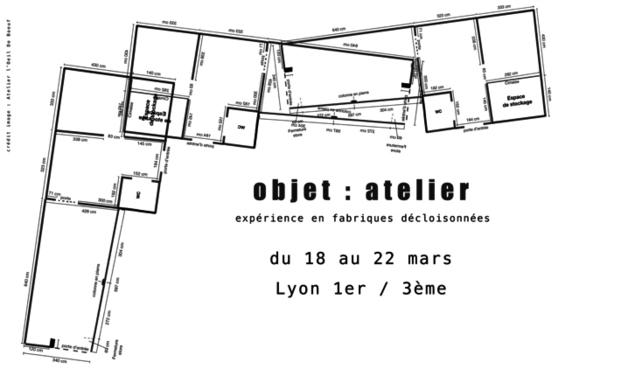 Visuel du projet Objet: Atelier -  Expérience de fabriques décloisonnées