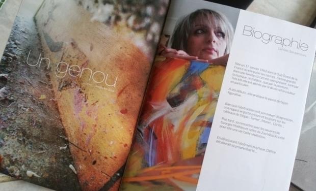 Visueel van project Je souhaite faire de mes oeuvres d'art une seule oeuvre d'art : un livre d'art intimiste