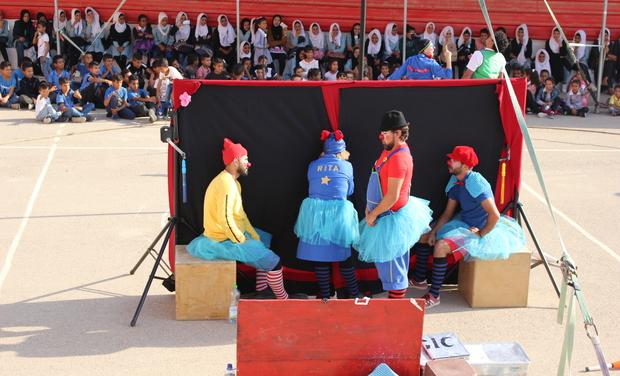 Visueel van project Soutien a Clowns Sans Frontières France mission Moyen Orient