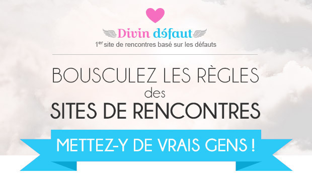 Visueel van project L'amour sourit aux imparfaits - site de rencontres