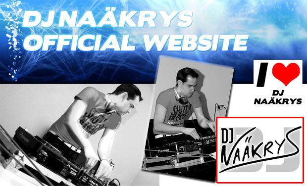 Visuel du projet Dj Naäkrys - Le Site Internet avec distribution de CD's mixés