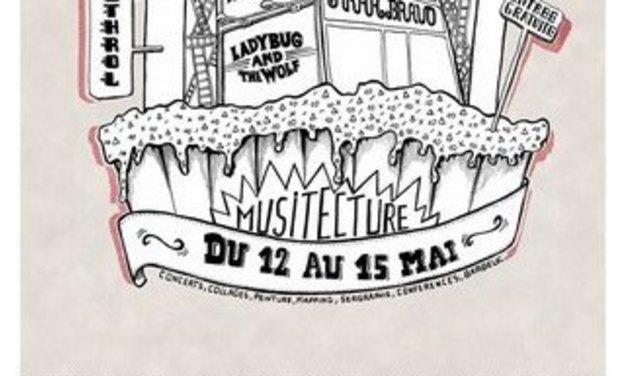 Visuel du projet MUSITECTURE - Festival spatio-musical