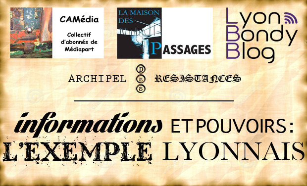 Project visual Informations et pouvoirs : l'exemple lyonnais