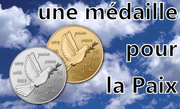 Visuel du projet Une médaille pour la Paix !