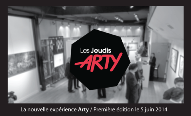 Project visual Les Jeudis Arty