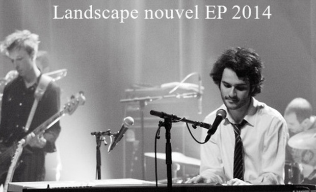 Visueel van project Landscape, enregistrement nouvel EP 2014.