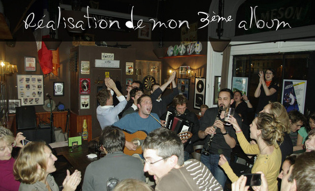 Visuel du projet 3eme album Nicolas Nourrit