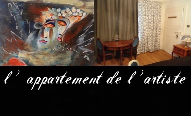 Project visual L'appartement de l'artiste