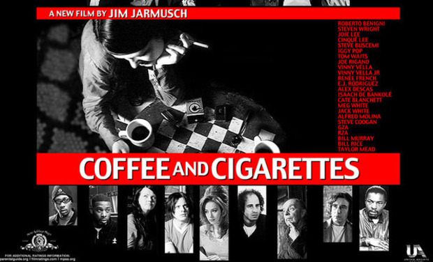 "Visueel van project ""Cigarettes, coffee and whisky"""