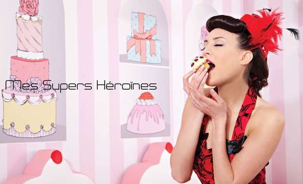 Visueel van project Super Héroine