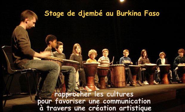Visuel du projet STAGE DE PERCUSSIONS AFRICAINES AU BURKINA FASO