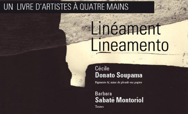 Visuel du projet Linéament / Lineamento, un livre d'artistes à 4 mains