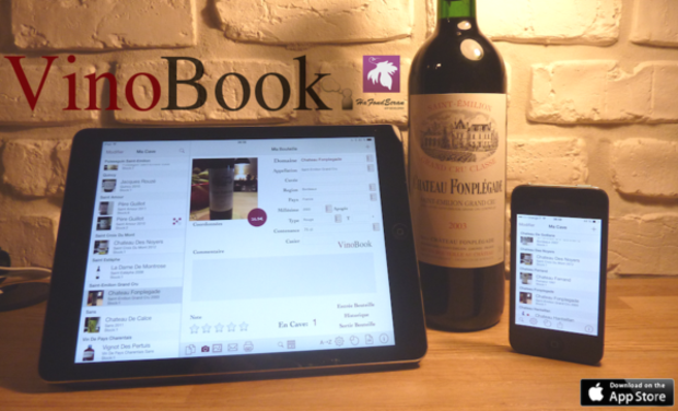 Project visual Application iOS : VinoBook