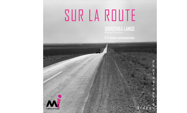 "Project visual Catalogue d'exposition ""Sur la route"""