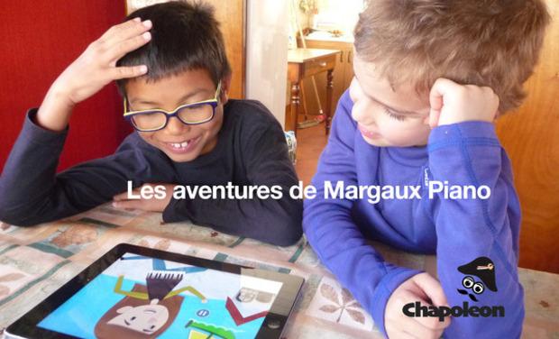 Visuel du projet Les aventures de Margo Piano