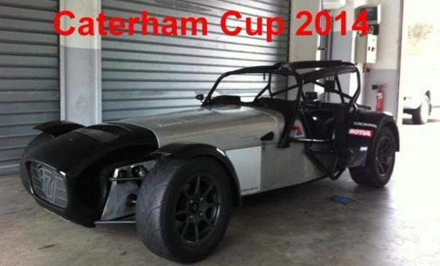 Visueel van project Caterham Cup 2014