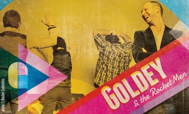 Visuel du projet Goldey & the RocketMen : l'album !