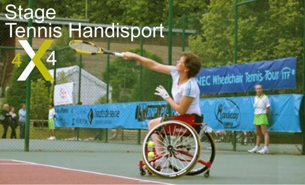Visueel van project Unique en France:Stage tennis handi-sport 4x4