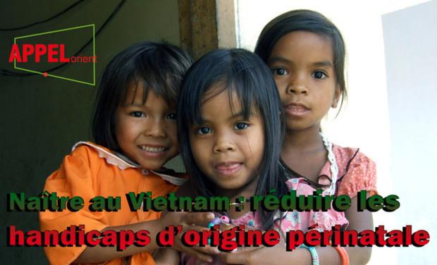 Visuel du projet Naître au Vietnam : réduire les handicaps d'origine périnatale