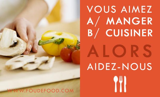 Visuel du projet Vendre/Acheter des plats fait-maison