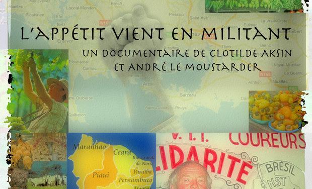 Project visual L'APPÉTIT VIENT EN MILITANT