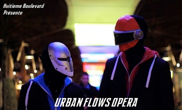 Project visual Urban Flows Opera