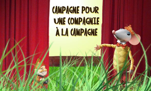 Visuel du projet Campagne pour une Compagnie à la campagne