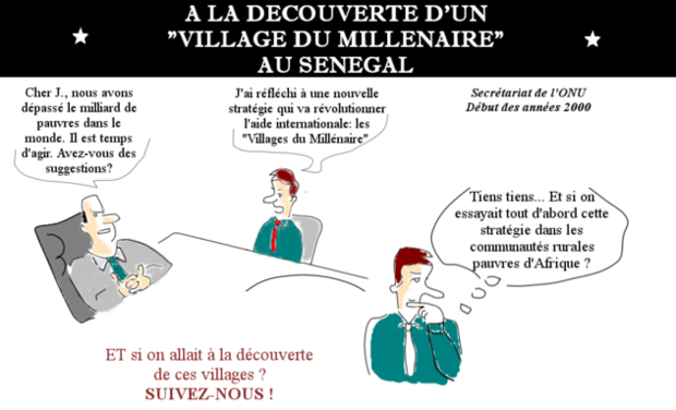 """Visuel du projet A la découverte d'un """"Village du Millénaire"""" au Sénégal"""