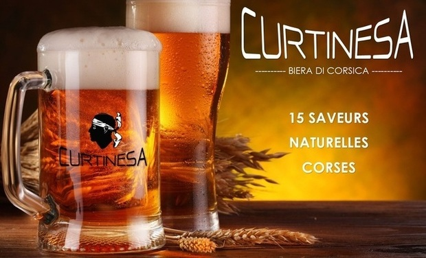 Visueel van project Curtinesa - La bière aux saveurs naturelles Corses