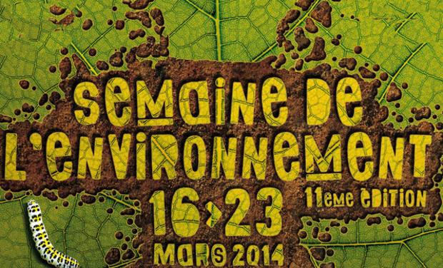 Visuel du projet  La semaine de l'environnement Rennes 2014