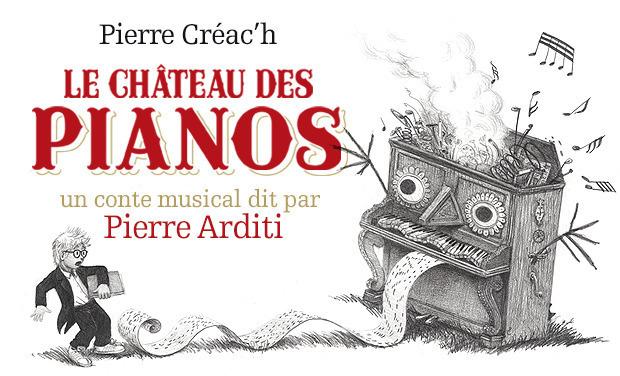 Visuel du projet Faites revivre le Château des pianos !
