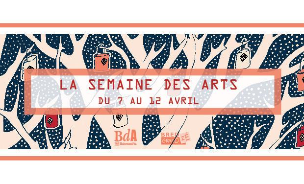Project visual La Semaine des Arts 2014