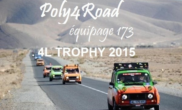 Visueel van project Poly4Road 4L Trophy 2015