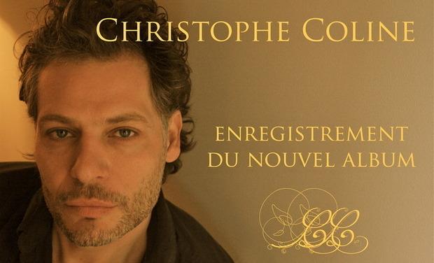 Project visual Enregistrement du nouvel album de Christophe Coline