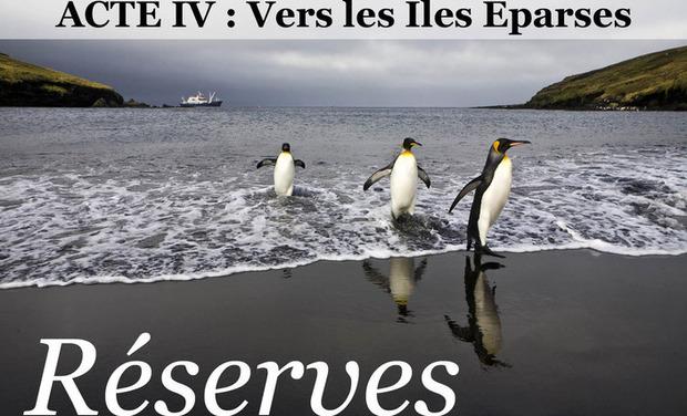 Project visual RÉSERVES, acte IV : Vers les ÎLES ÉPARSES