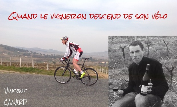 Project visual Vincent CANARD, quand le vigneron descend de son vélo