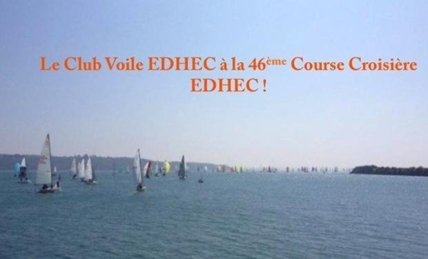 Visuel du projet Le Club Voile EDHEC à la 46e Course Croisière EDHEC