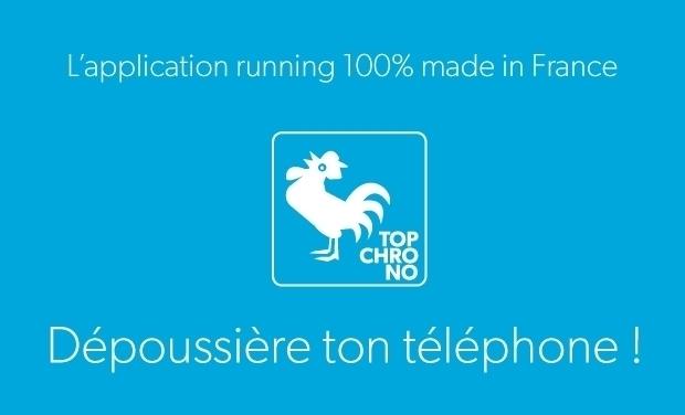 Visuel du projet L'Appli Topchrono Dépoussière Ton Téléphone !