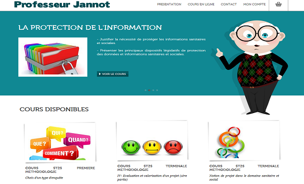 Project visual Professeur  Jannot