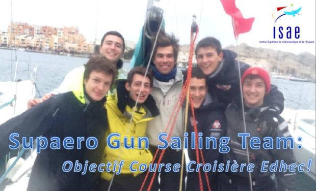 Visuel du projet Supaero Gun Sailing Team