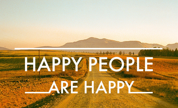 Project visual Happy People Are Happy