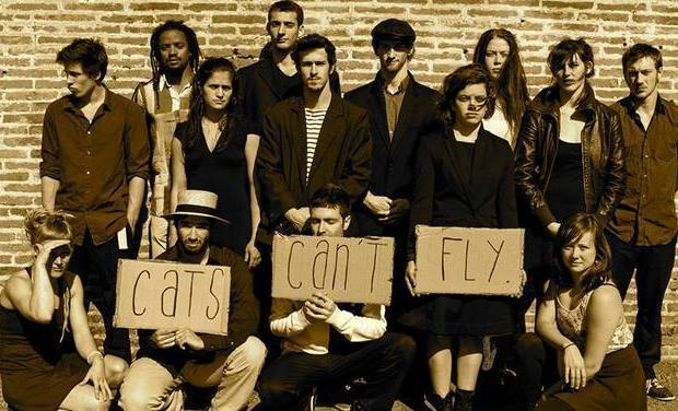 Visuel du projet The Optimists Present : Cats Can't Fly