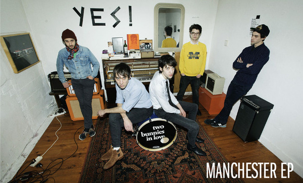 Visueel van project Two Bunnies In Love - Manchester EP